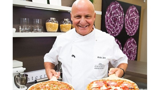 Aldo Zilli puts M&S Pizza range to the test