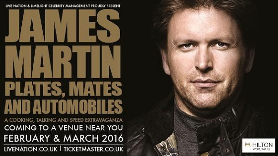 James Martin UK Tour - NEW DATE ADDED