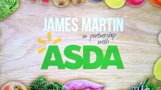 James Martin Announces Partnership with Asda