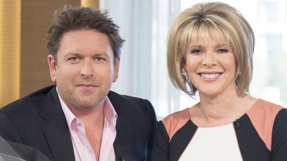 James Martin hosts This Morning
