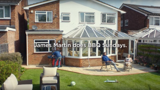 James Martin stars in Asda TV ad