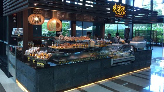 Baker & Cook kiosk opens in Singapore