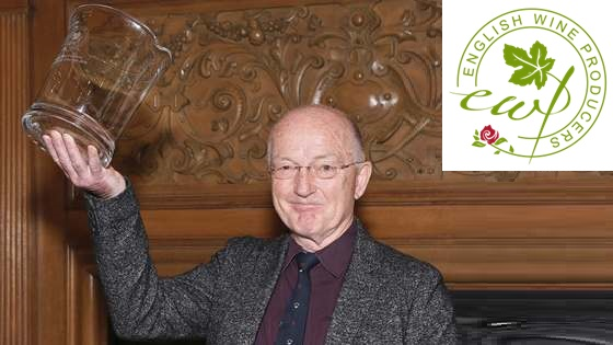 Oz Clarke awarded by English Wine Producers