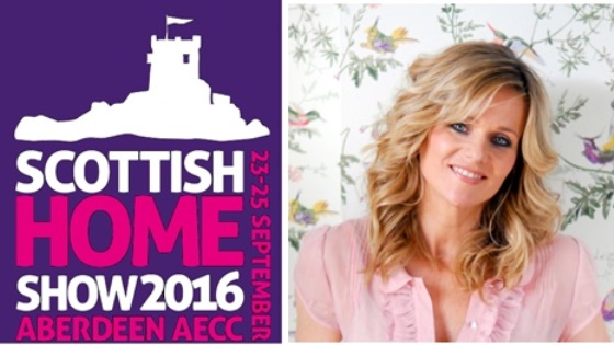 Linda Barker at Scottish Home Show
