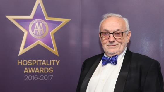 Pierre Koffmann is honoured at AA Awards