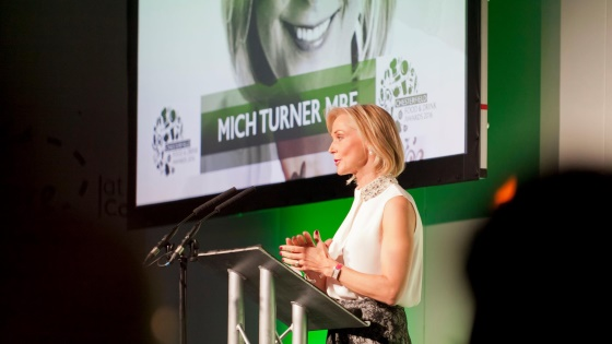 Mich Turner hosts Chesterfield Food & Drink Awards