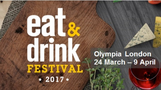 Eat and Drink Festival at Ideal Home Show