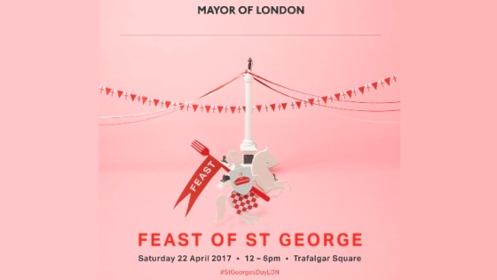 Theo Randall at Feast of St George 2017