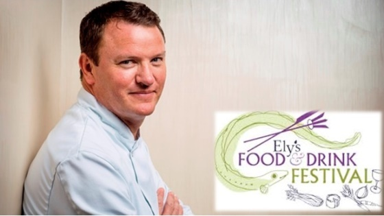 Theo Randall at Ely Food and Drink Festival