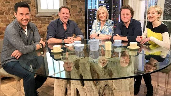 Mich Turner on Saturday Kitchen