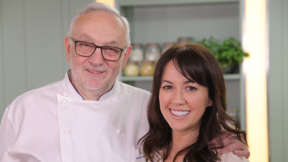Pierre Koffmann in Yes Chef series 2