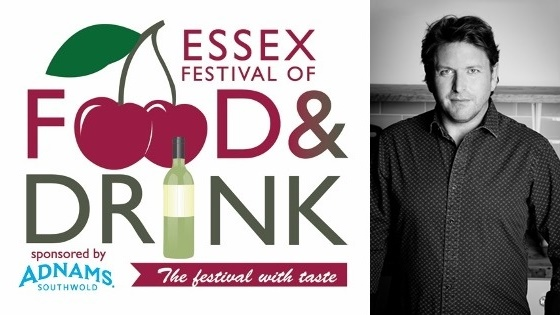 James Martin at Essex Food and Drink Festival