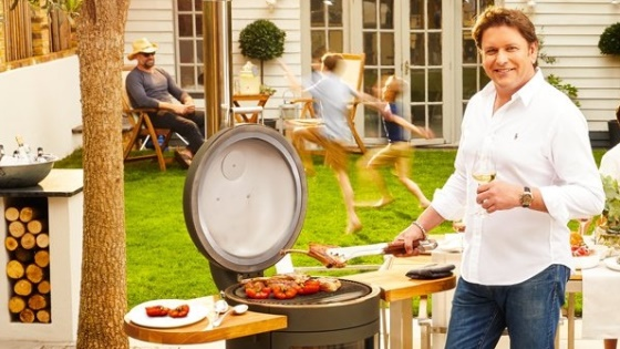 James Martin launches Chesneys' Barbecue Heaters