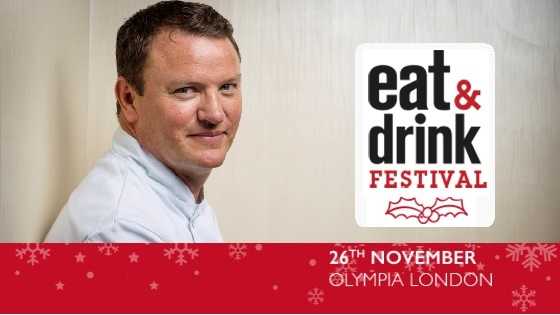 Theo Randall at Eat & Drink Festival Christmas
