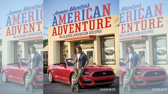 James Martin's American Adventure book