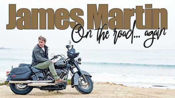 James Martin On The Road... Again