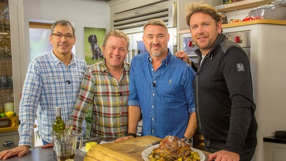 Daniel Galmiche on James Martin's Saturday Morning